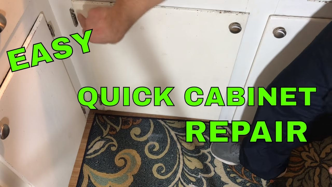 How to Replace a Kitchen Cabinet Door Hinge