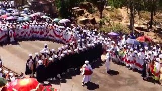 Warm Ephiphany Celebration In Lalibela - ደማቅ የጥምቀጥ በዓል አከባበር በላሊበላ