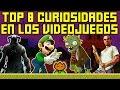 Top 8: Curiosidades de Videojuegos Interesantes que NO Conocías