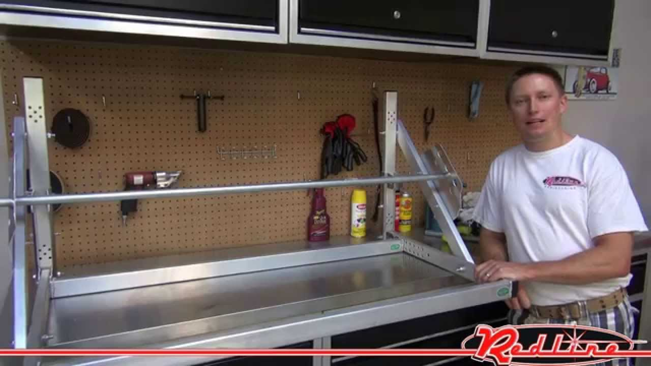 Pit Products Aluminum Trailer Tire Rack Youtube