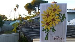Sunflowers Birthday Card - Week 3 of Celebrations