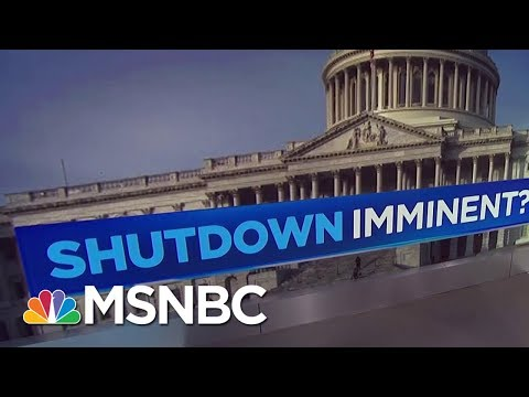 Threat Of Government Shutdown Looming Over Congress | MSNBC