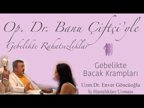 Gebelikte Bacak Krampları - Uzm.Dr. Enver Göncüoğlu