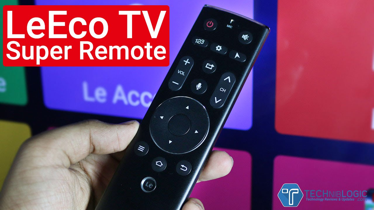 LeEco TV Super Remote Features Explained!
