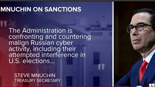 U.S. sanctions Russia for election meddling, cyberattacks