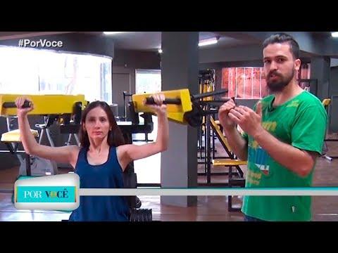 Por Você - Atividade Física: Exercícios em academia 23/06/18
