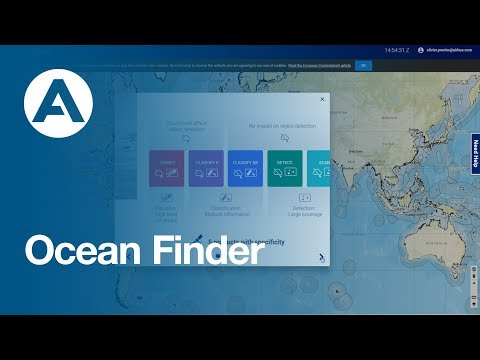 OceanFinder: Locate, identify and track ocean assets