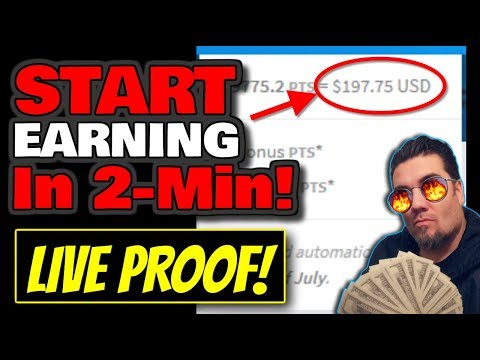 [LIVE PROOF] Start Making Money in 2 MINUTES! - Easy Online Jobs