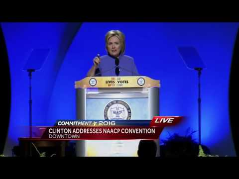 Full speech: Hillary Clinton speaks at NAACP Convention