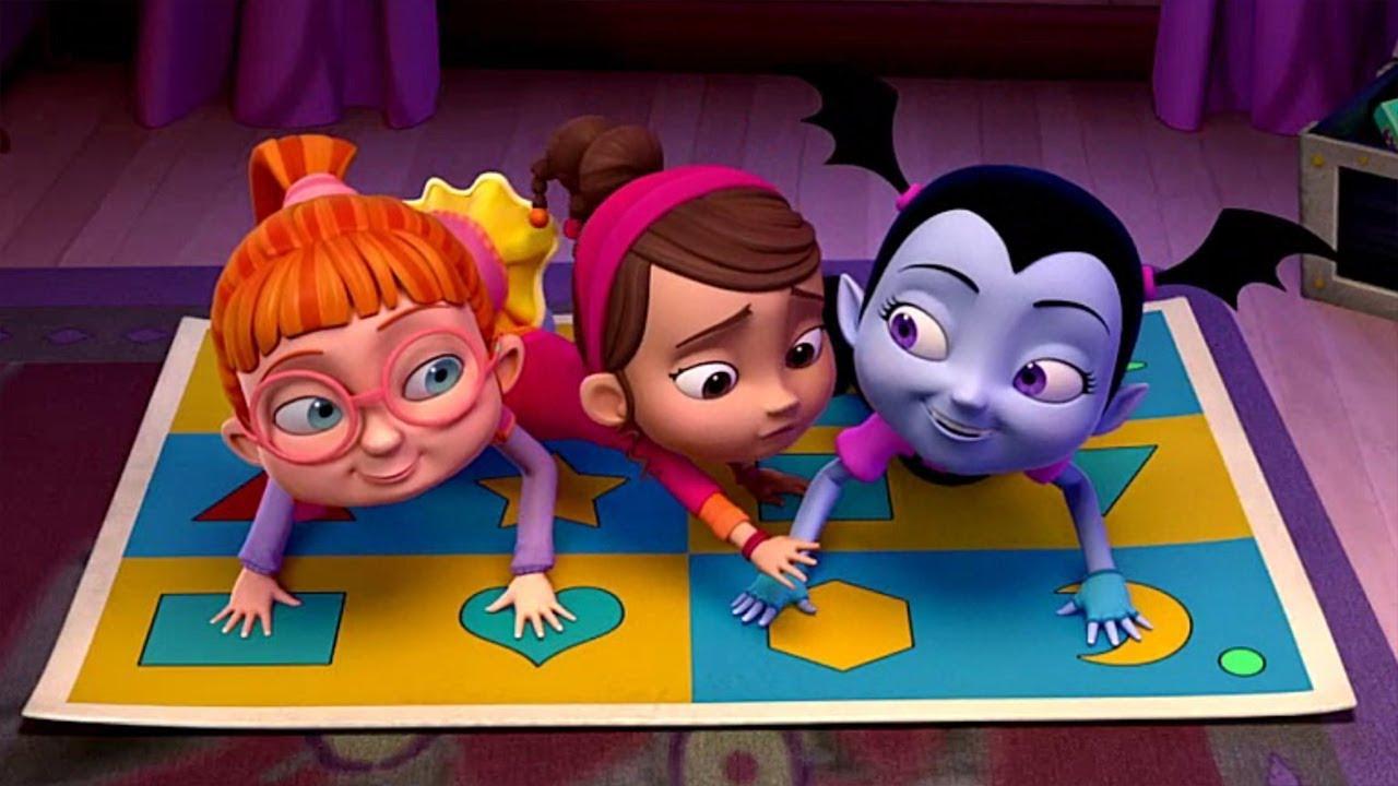 Imagenes De Dibujos Animados De Disney Para Colorear: Disney Vampirina En Español - El Juego De Vampi