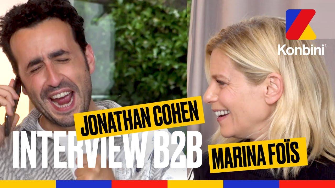 Jonathan Cohen Raconte Son Plus Gros Mytho A Marina Fois L Interview B2b L Konbini Youtube