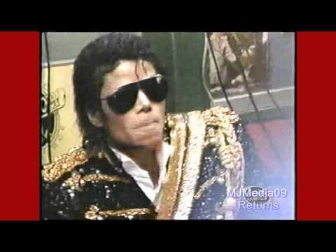 Michael Jackson Receives Star on Hollywood Walk Fame November 1984