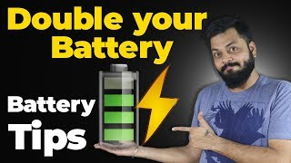 HOW TO DOUBLE YOUR PHONE BATTERY L FE   Awesome Battery Saving Tips