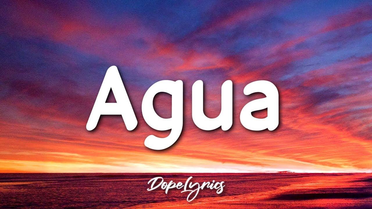 Tainy, J Balvin - Agua (Letra/Lyrics) 🎵