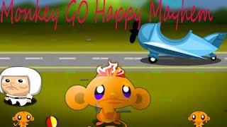 Monkey GO Happy Mayhem Walkthrough All Levels