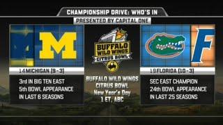 Michigan vs Florida in Citrus Bowl 2016