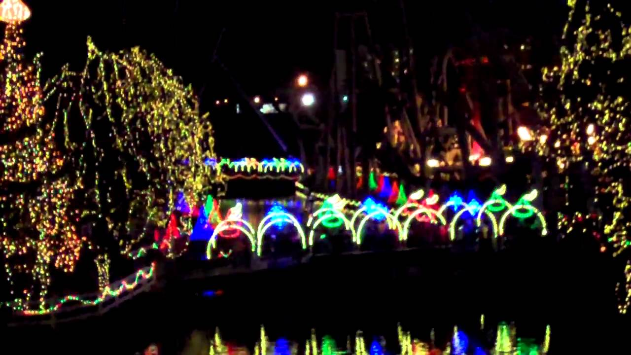 hersheypark christmas candylane noel light show jingle bell rock youtube