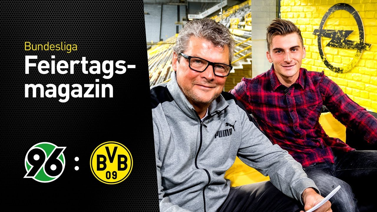 Das BVB total!-Feiertagsmagazin mit Maximilian Philipp | Hannover 96 - Borussia Dortmund