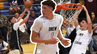 LaMelo's FINAL Games Before Going To AUSTRALIA! Drew League 2019 PLAYOFFS HIGHLIGHTS w/ No Shnacks