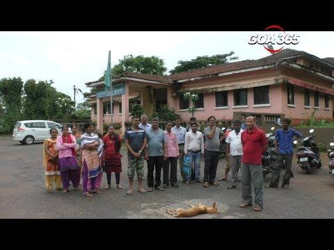 GOA 365  Veroda residents upset over NH17 widening; file police complaint