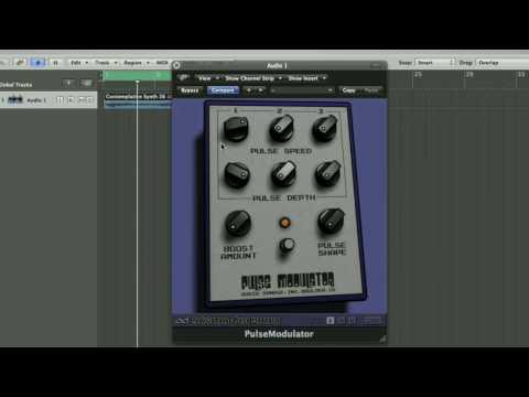 Audio Damage Pulse Modulator and Logic Pro
