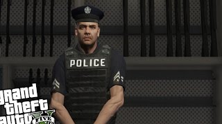 GTA 5 PC MOD - LSPD First Response Day 1 - First Police Patrol! (Play as Police Officer GTA 5)