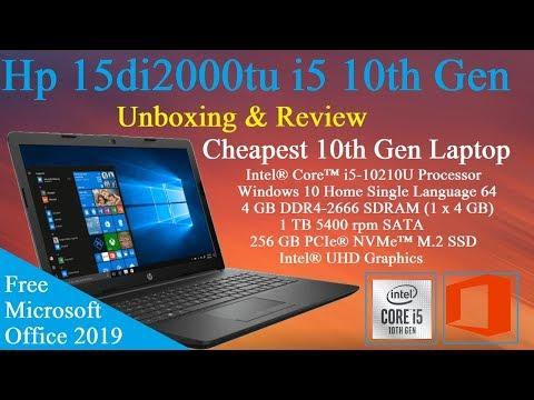 Hp 15di2000tu Core i5 10th Generation Laptop Unboxing & Review [Hindi]