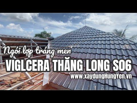 Ngói Sóng Tráng Men Xanh Viglacera Thăng Long - S06 | Phân Phối Bởi Cty Đức Thắng | 0221.3 862 259
