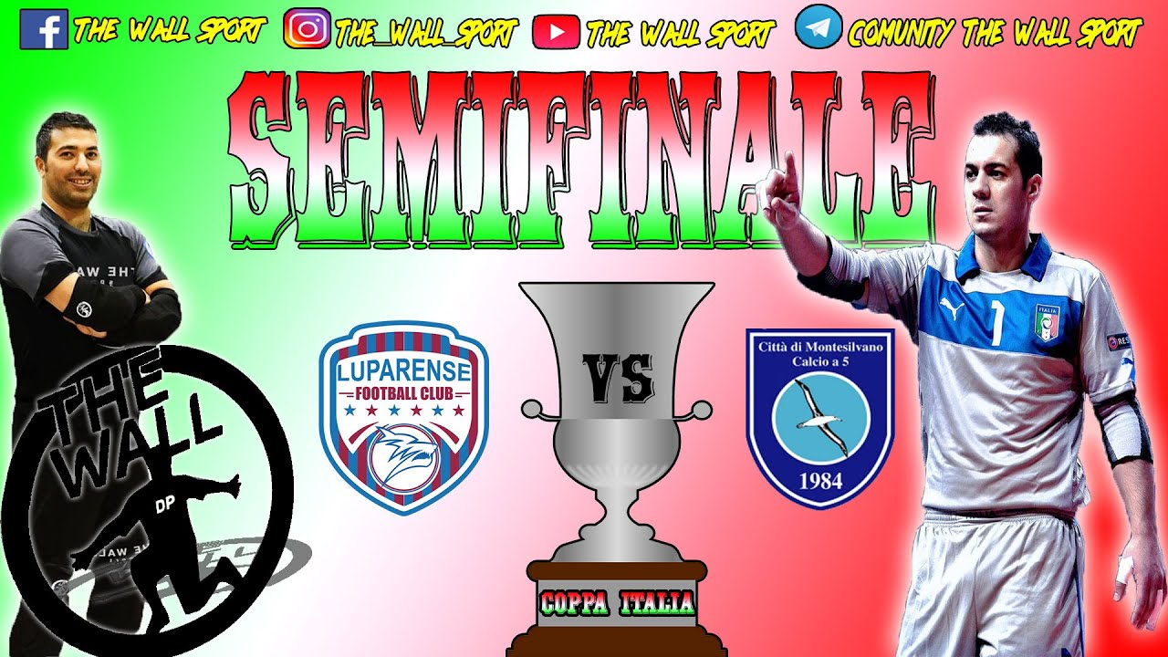 CALCIO A 5 Coppa Italia SEMIFINALE Spettacolo tra ...