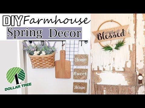 DOLLAR TREE DIY ROOM DECOR 2019⚫  FARMHOUSE DECOR