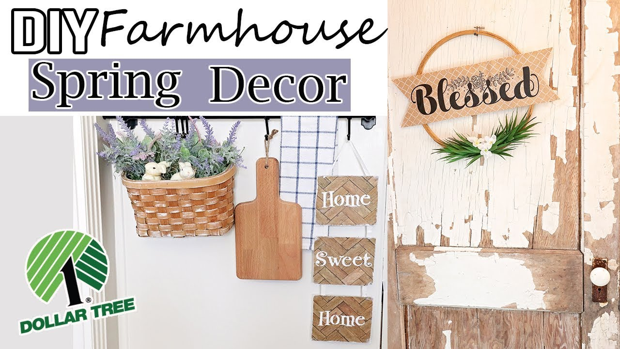 DOLLAR TREE DIY ROOM DECOR 2019⚫ FARMHOUSE DECOR