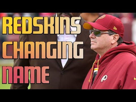 Washington Redskins Will Officially Change Their Team Name And Logo