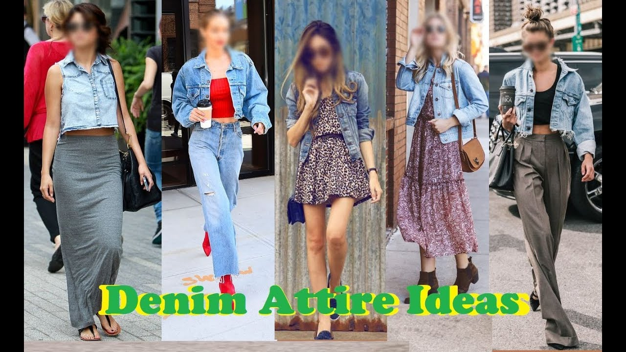 [VIDEO] - Denim Jacket Look Outfit Ideas For Girls | 20 Many style to wear Denim Jacket 8