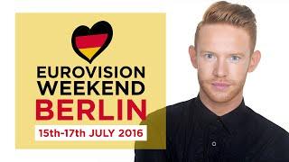 Karl William Lund - Eurovision Weekend Berlin 2016