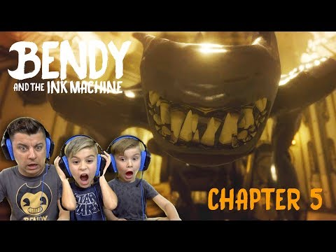 Bendy And The Ink Machine (Chapter 5) The Last Reel