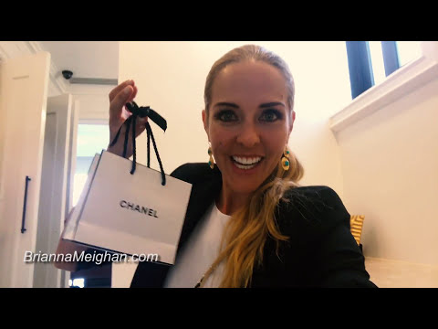 VLOG 33 - Chanel Party and My Chanel Bag Unboxing - Brianna Vlog