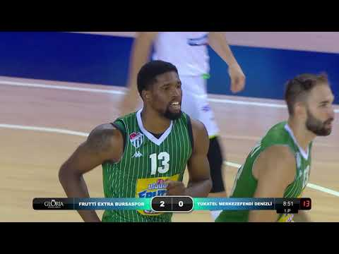 05.09 Frutti Extra Bursaspor - Yukatel Denizli Merkezefendi Belediye Basketbol