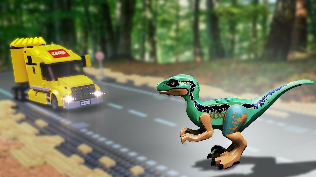 Lego Dinosaur Attack Jurassic World 2 Dinosaurs In The City 11