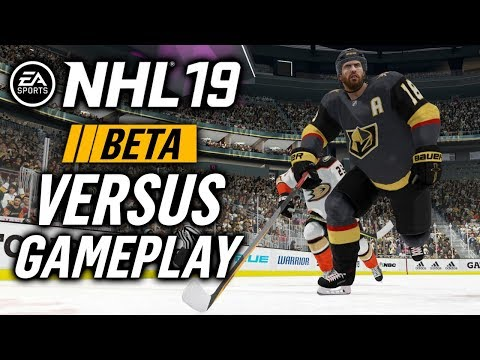 NHL 19 Beta ONLINE VERSUS Gameplay   HAS THE GAMEPLAY CHANGED AT ALL?