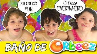 Baño de ORBEEZ * Orbeez BATH explotion en español