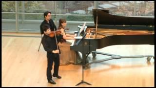 Respighi Violin Sonata in B minor (1917) 3. Allegro moderato ma energico