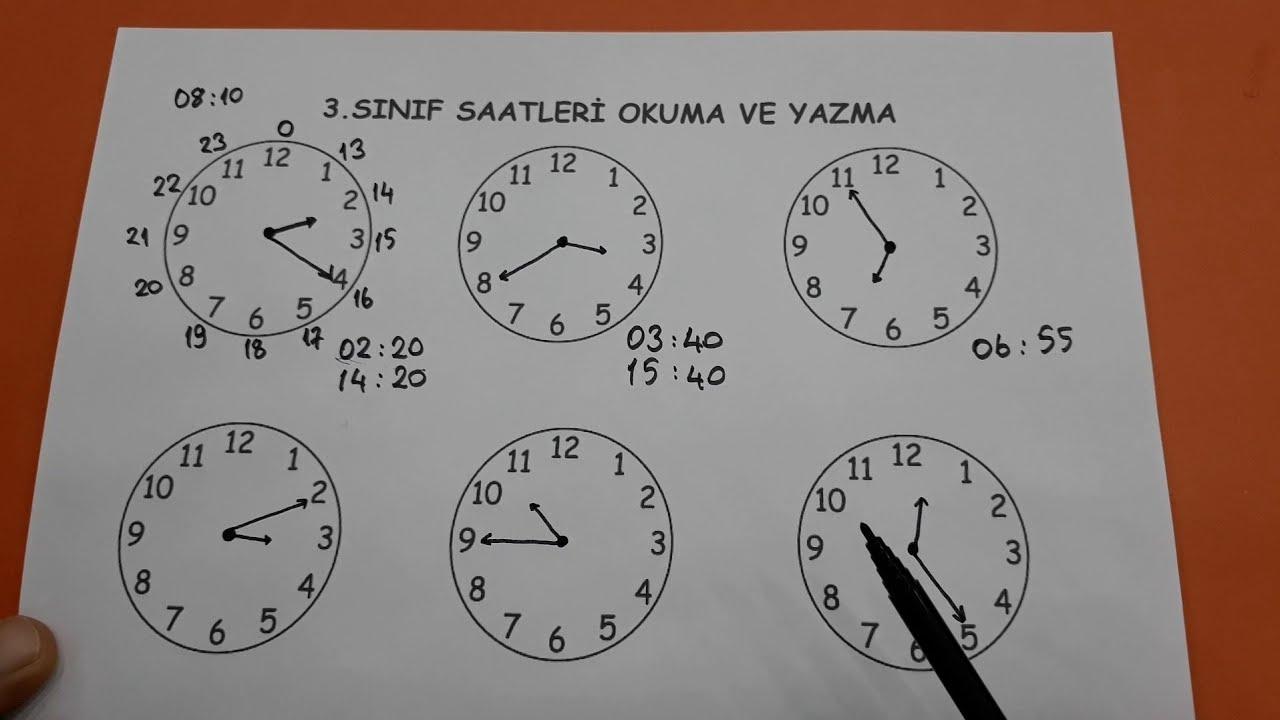 3.sınıf saatler konu anlatımı ve problemler @Bulbulogretmen  #matematik #saat #zaman #ölçüler