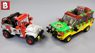LEGO Jurassic Park Jeep and Fo…