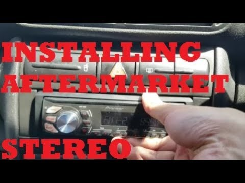 How to Install Aftermarket Car Stereo Radio