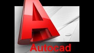 شرح تعليم أتوكاد للمبتدئين للدكتور عاطف عراقى المحاضرة رقم  6 فقرة رقم 1  Autocad Learning