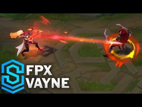 FPX Vayne Skin Spotlight - League of Legends
