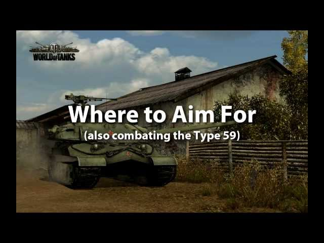 Where To Shoot in World of Tanks - Includes Theory & Gameplay Action - Newbie Guide