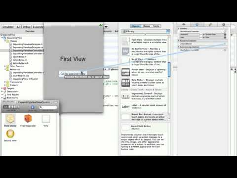 Tutorial Part 1: How to make expanding/shrinking views on iPhone SDK