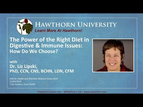 The Power of the Right Diet in Digestive and Immune Issues: How do you Choose? with Dr. Liz Lipski