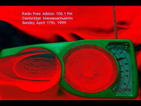 Radio Free Cambridge 106.1 FM pirate radio broadcast 1999 003